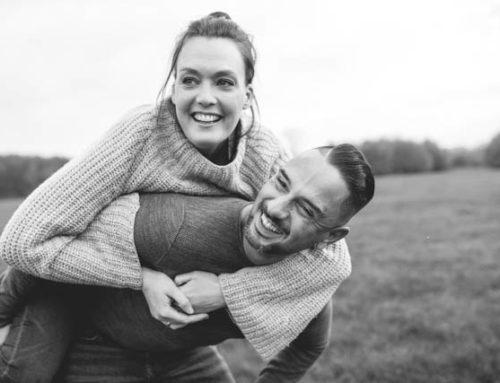 Paarfotos als Teil eines Familienshootings